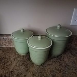 None Accents - Kitchen Canister Set!